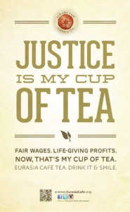 Justice is my cup of tea