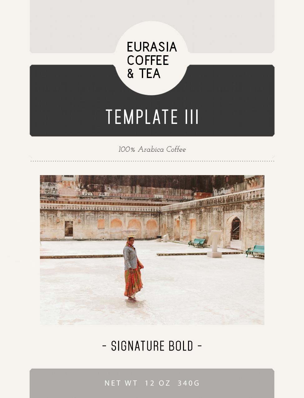 Custom Label Template - Option 3