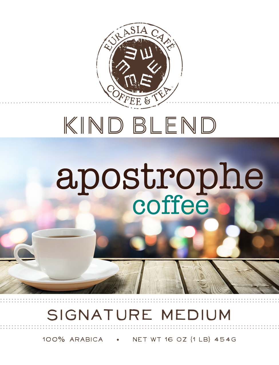 Apostrophe Coffee Cup